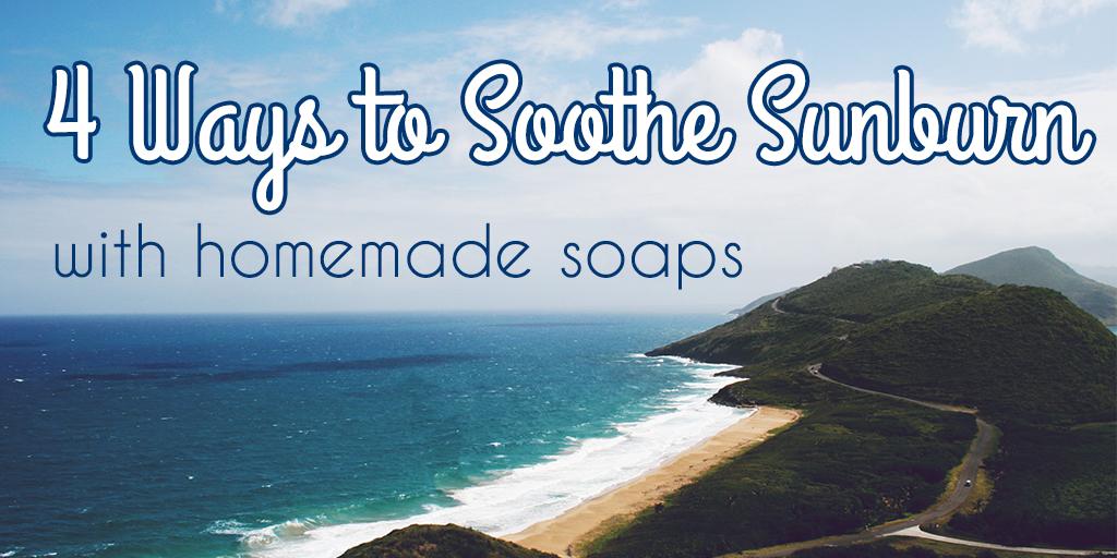 sunburn soaps