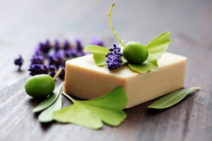 DIY hand made cold process soap