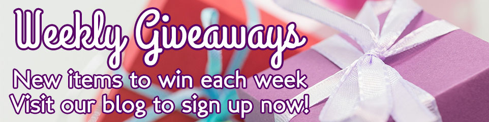 weekly giveaway banner