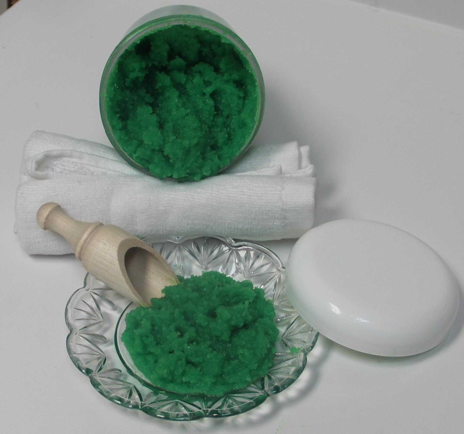 Dead Sea Salt Foaming Bath Butter green2