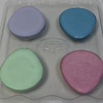 Four colors massage egg melt & pour