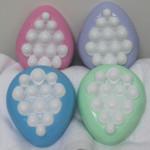 Four melt and pour massage eggs1