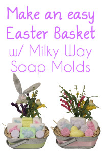 milky way easter soap baskets