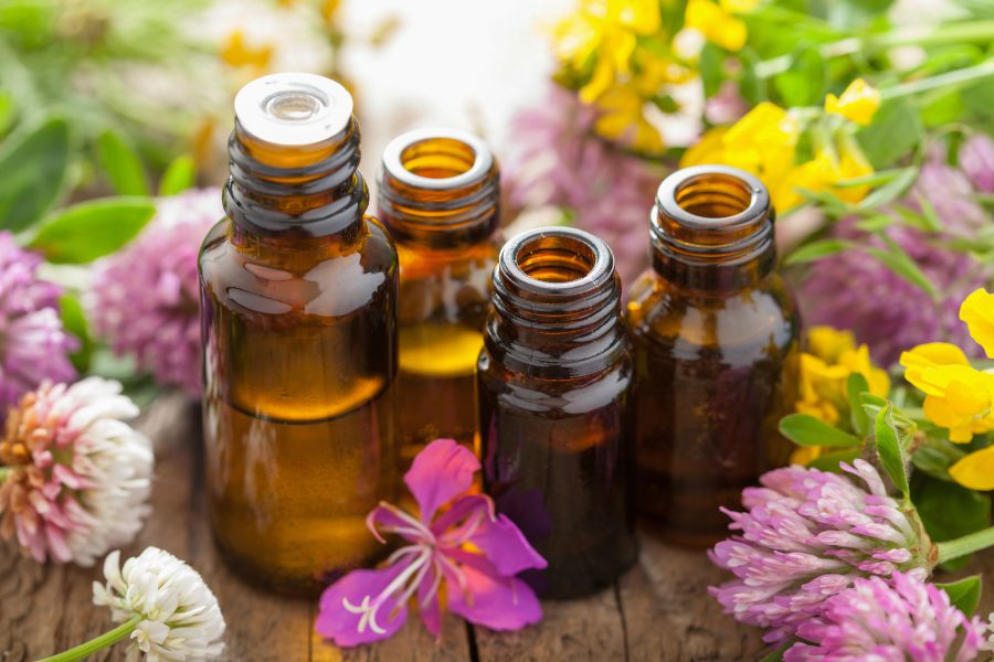floral scented essential oils