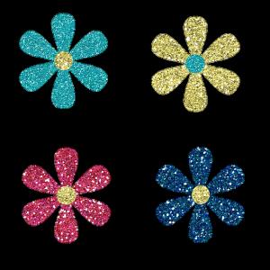 fun glitter colorful soaps
