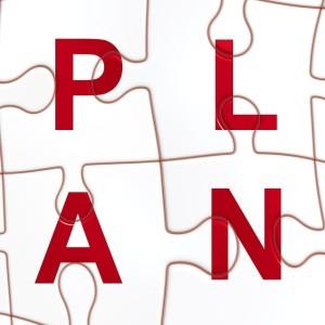sit down and make a plan