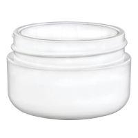 1/2oz Double Wall White Round Jar (Case of 819)