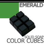 Emerald Solid Color Cubes