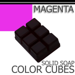 Magenta Solid Color Cubes