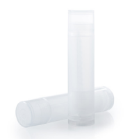 .15oz Natural Lip Balm Tube W/Cap