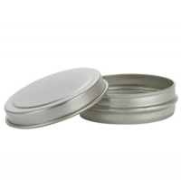 1/2oz Metal Lip Balm Tin