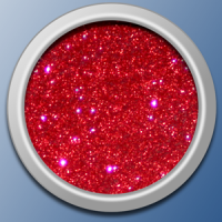 Regal Red Sparkle Dust Glitter