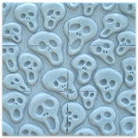 Tray Spooks Soap Mold