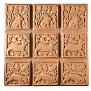 Medieval Animals Tray Soap Mold