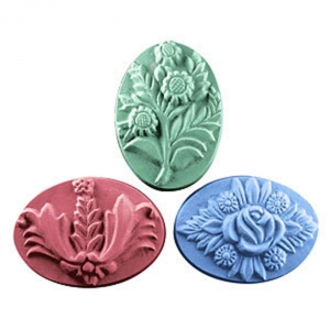 3 Bouquets Soap Mold