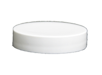 48/400 White Smooth Lid (No Liner)