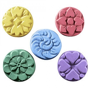 5 Flowers (Guest) Soap Mold
