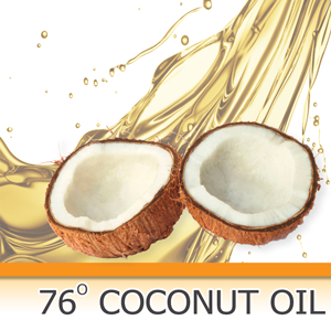 Coconut Oil 76 Degree
