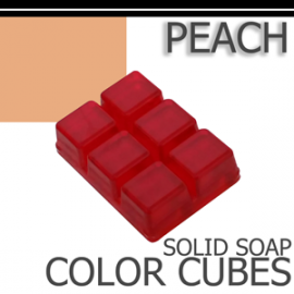Peach Solid Color Cubes