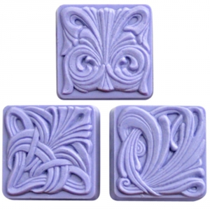 Art Nouveau Tiles Soap Mold