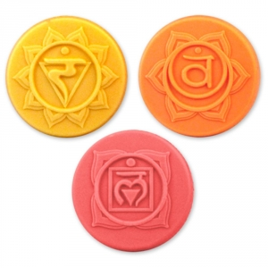 Chakras 2 Soap Mold