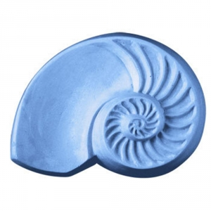 Chambered Nautilus Soap Mold