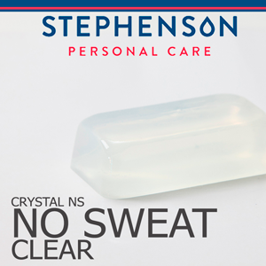 Clear No Sweat Melt and Pour Soap Base