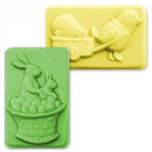 Eggs In a Basket Soap Mold