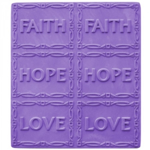 Faith & Hope Tray Soap Mold