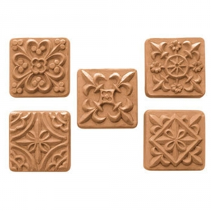 Guest Medieval Tiles Soap Mold