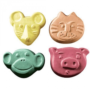 Kid Critters 2 Soap Mold
