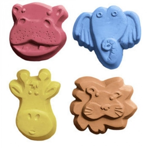 Kid Critters 4 Soap Mold