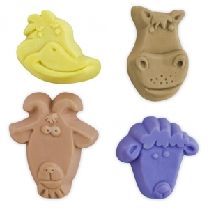 Kid Critters 5 Soap Mold