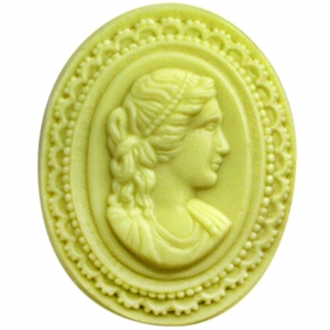 Large Cameo Soap Mold