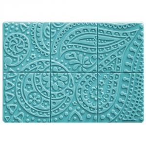 Paisley Tray Soap Mold