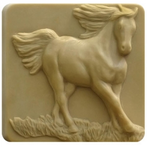Running Horse Soap Mold