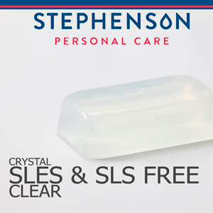 Clear SLES & SLS Free Melt and Pour Soap Base