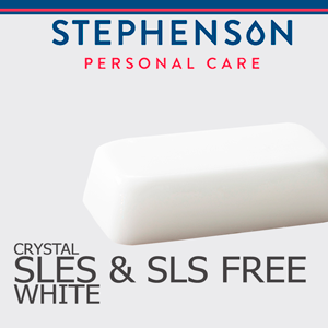 White SLES & SLS Free Melt and Pour Soap Base