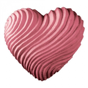 Swirled Heart Soap Mold