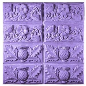 Thistle & Butter Tray Soap Mold
