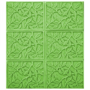 Tray Bamboo Leaves Soap Mold