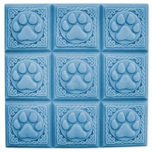 Tray Paw Print Soap Mold