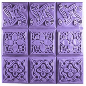 Brocades Soap Mold