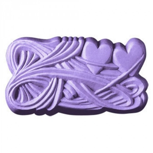 Two Hearts Soap Mold