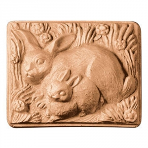 Two Rabbits Soap Mold